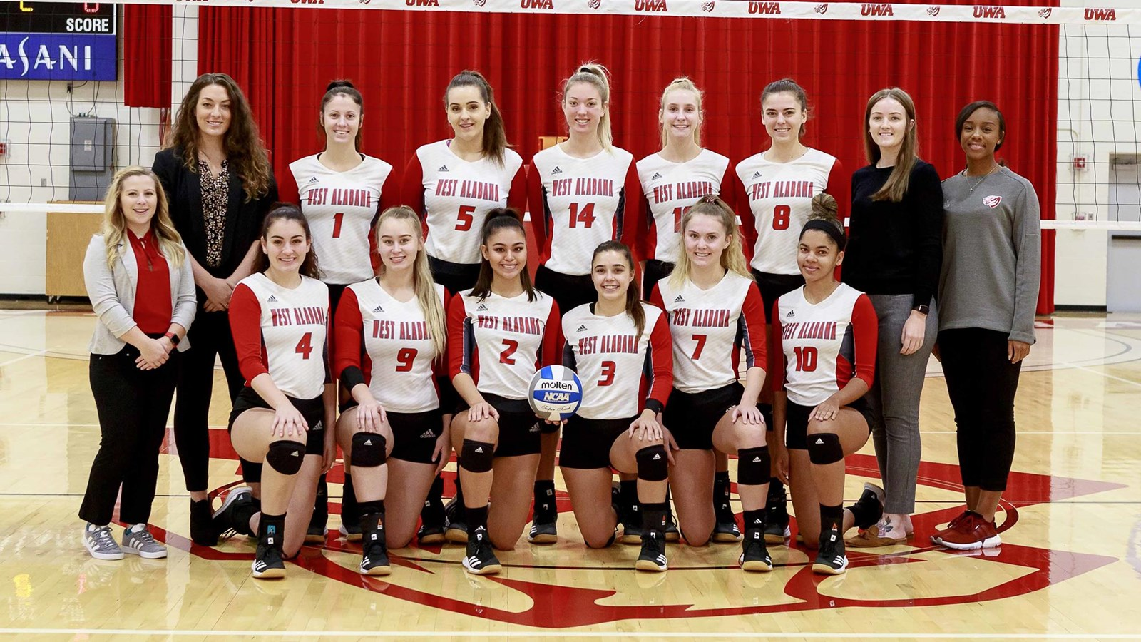2019 Women S Volleyball Roster University Of West Alabama Athletics